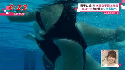 女子水球選手の水着 (12)