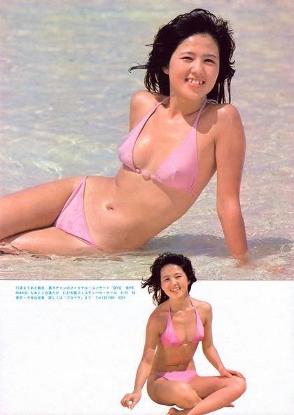 河合奈保子、岡田有希子とか昔のアイドル水着 (10)