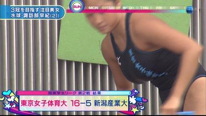 女子水球選手の水着 (28)