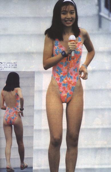 河合奈保子、岡田有希子とか昔のアイドル水着 (57)