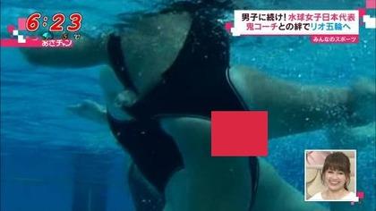 女子水球選手の水着 (35)