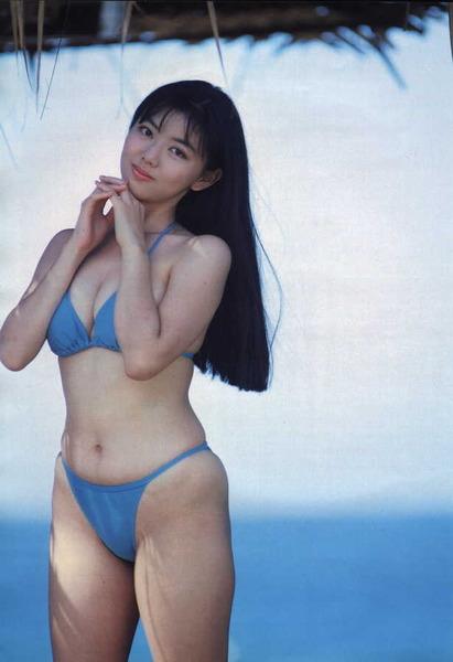 河合奈保子、岡田有希子とか昔のアイドル水着 (58)