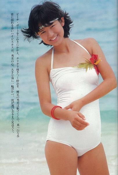 河合奈保子、岡田有希子とか昔のアイドル水着 (19)