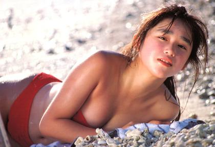 河合奈保子、岡田有希子とか昔のアイドル水着 (38)