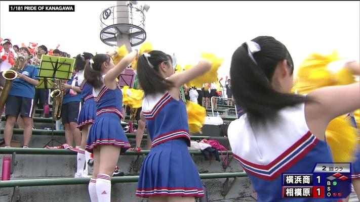高校野球_JK_チアガール (9)