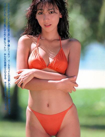河合奈保子、岡田有希子とか昔のアイドル水着 (54)