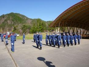 Firefighting team spring training