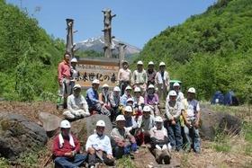 未来世紀の森育林作業�集合