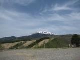 キャンプ場からの御嶽山
