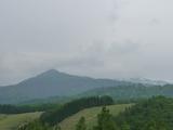 ブログ用:キャンプ場から御嶽山隠れる
