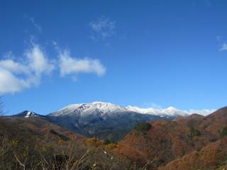 冠雪御嶽山1