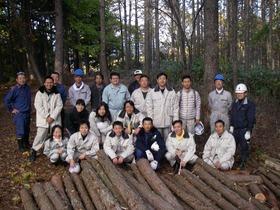 1025小牧市職員林業体験 101