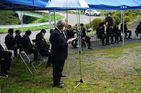 長野県西部地震追悼式が行われました...