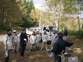 1025小牧市職員林業体験 002