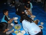blogDSC04117(キャンプ場で飯ごう)