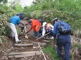 blog登山道整備