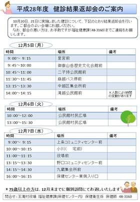 20161208-1�特定健診結果返却会のご案内(名前伏せ字)