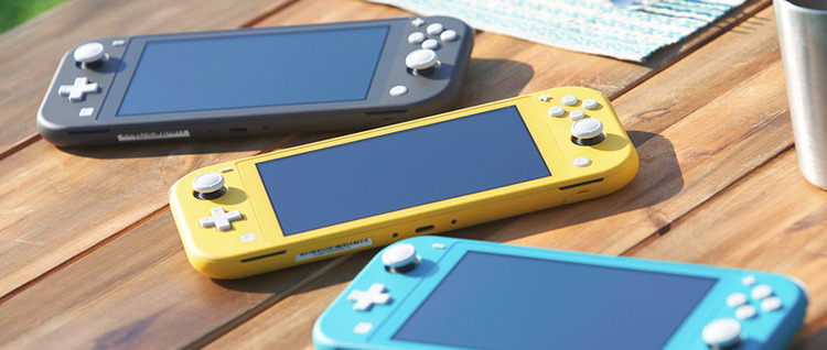 2019年9月20日金曜日に発売される新型NintendoSwitchLite