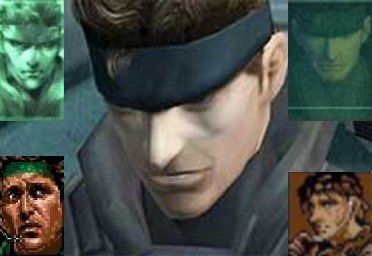 SOLID SNAKE COLLAGE