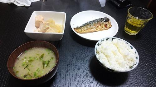 【画像あり】俺氏今日の晩御飯を晒す