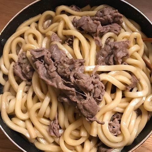 【画像あり】26歳の女だけど肉うどん作った