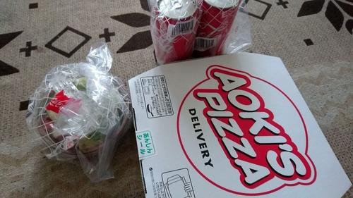 【画像あり】ピザが届いたぞおおおおおあおwwwwwwwww
