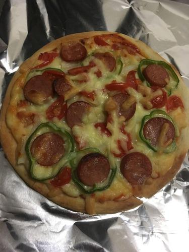 【画像あり】ピザ焼いたから評価してくれ