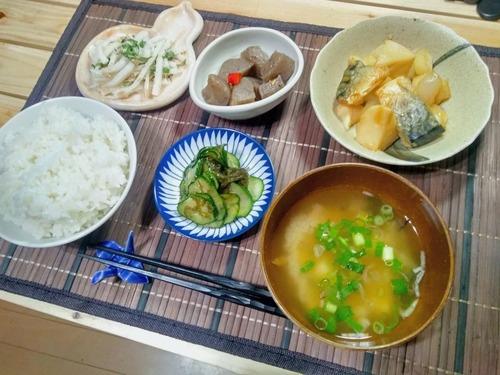 【画像あり】料理だけが趣味のおっさんの健康晩飯www