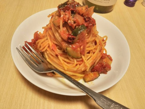 【画像あり】スパゲッティ作ったぞ