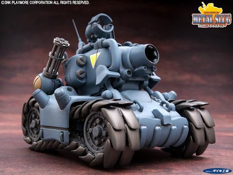 一人乗り高機動戦車メタルスラッグ