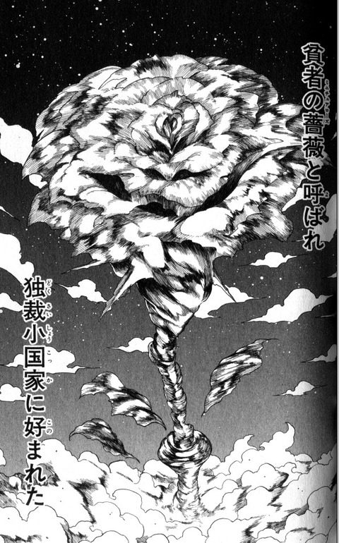 ハンターハンターの蟻編 薔薇