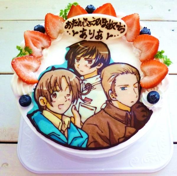 Japanese Anime Birthday Cakes