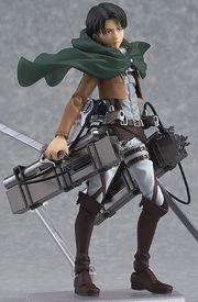 figma 進撃の巨人 リヴァイ (ノンスケール ABS&PVC 塗装済み可動フィギュア)