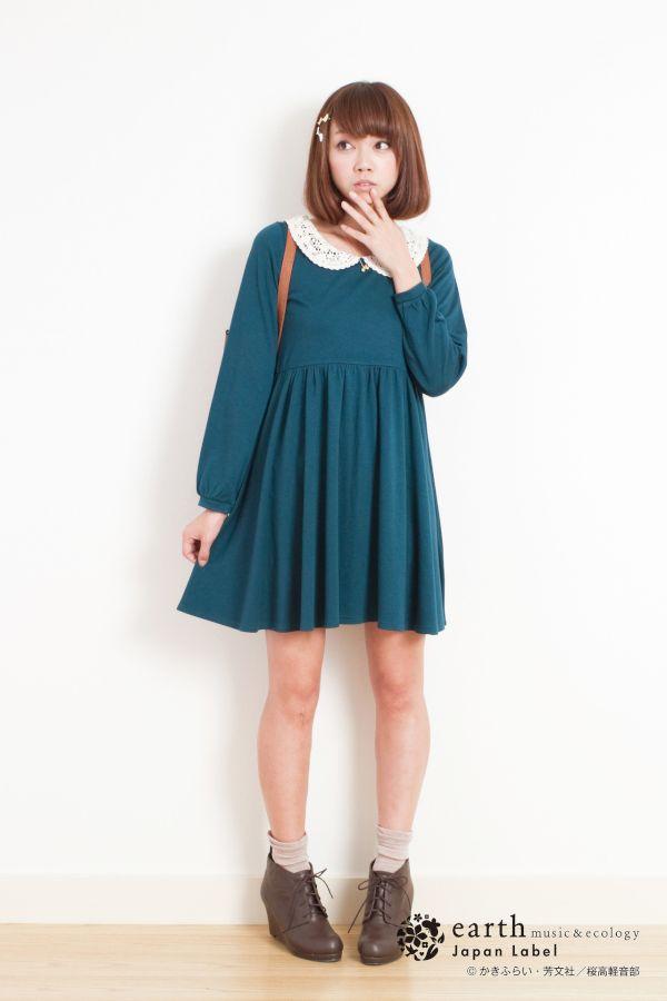 『けいおん!』×人気ブランド「earth」コラボ決定!放課後ティータイムの5人をイメージした服が発売
