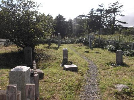 120914古釜布墓地