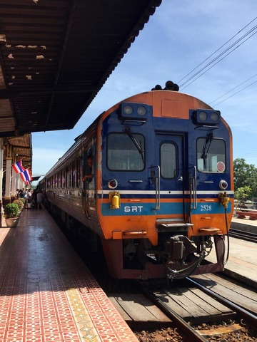 中華街へ … SRT (タイ国鉄) アユタヤ~バンコク