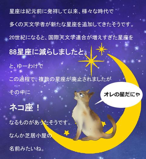 09月15日ネコ座