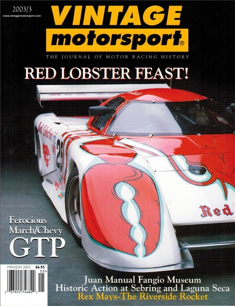 1983-March-83G-IMSA-Race-Car-Red-Lobster-Mag-Cover
