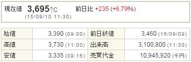 2138クルーズ20150910-1前場