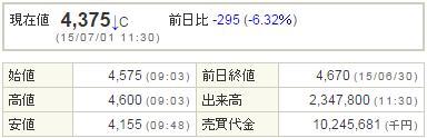 2138クルーズ20150701-1前場