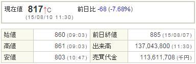 9501東京電力20150810-1前場