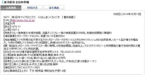 6871日本マイクロニクス