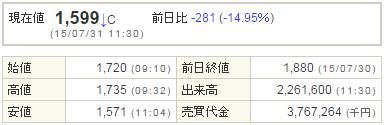 3911Aiming20150731-1前場