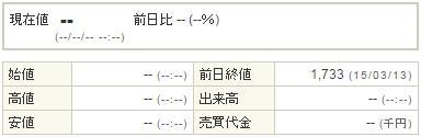 7777スリー・ディー・マトリックス20140316-1前場