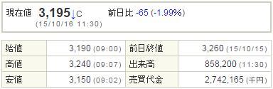 2138クルーズ20151016-1前場