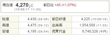 2138クルーズ20150617-1前場