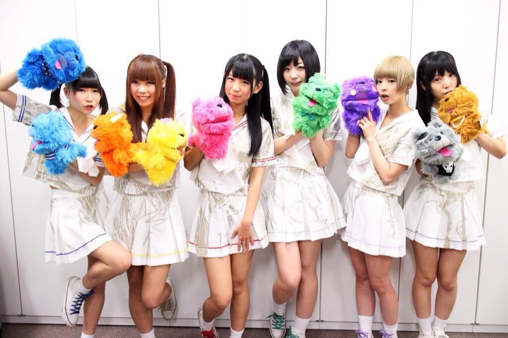 【画像】でんぱ組と他のアイドル達との台湾画像