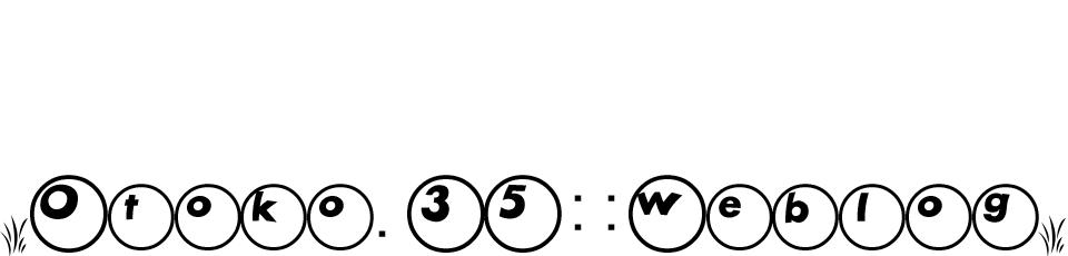 otoko35::weblog