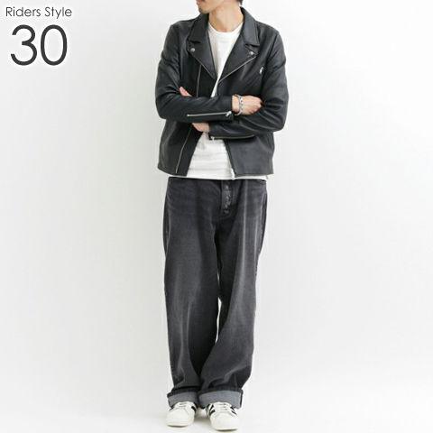 ライダース メンズ コーデ 30