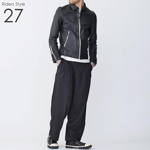 ライダース メンズ コーデ 27